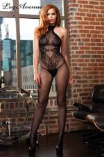Combinaison Seamless Halter : Une combinaison sexy qui dessine sur votre corps un body string très sensuel.