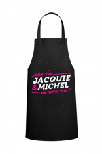 Tablier May the J&M be with you : Tablier May the Jacquie & Michel be with you  pour pimenter vos réceptions entre amis.