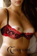 Soutien gorge demi sein Victoria : Soutien Gorge demi sein qui sublime la poitrine, réalisé dans un superbe tulle brodé haut de gamme.