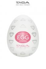 Tenga Egg Stepper : Un masturbateur New Generation avec des nervures bi-directionnelles pour atteindre des sommets de plaisir!
